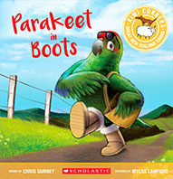 Parakeet in Boots